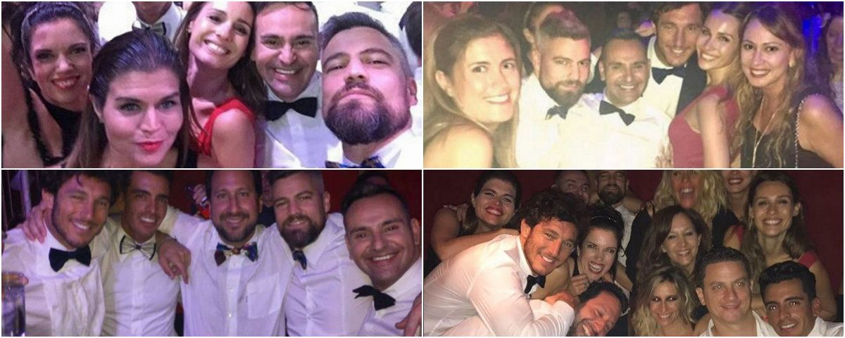 ¡Como uno más! La noche de fiesta de Pampita, Pico Mónaco y sus amigos