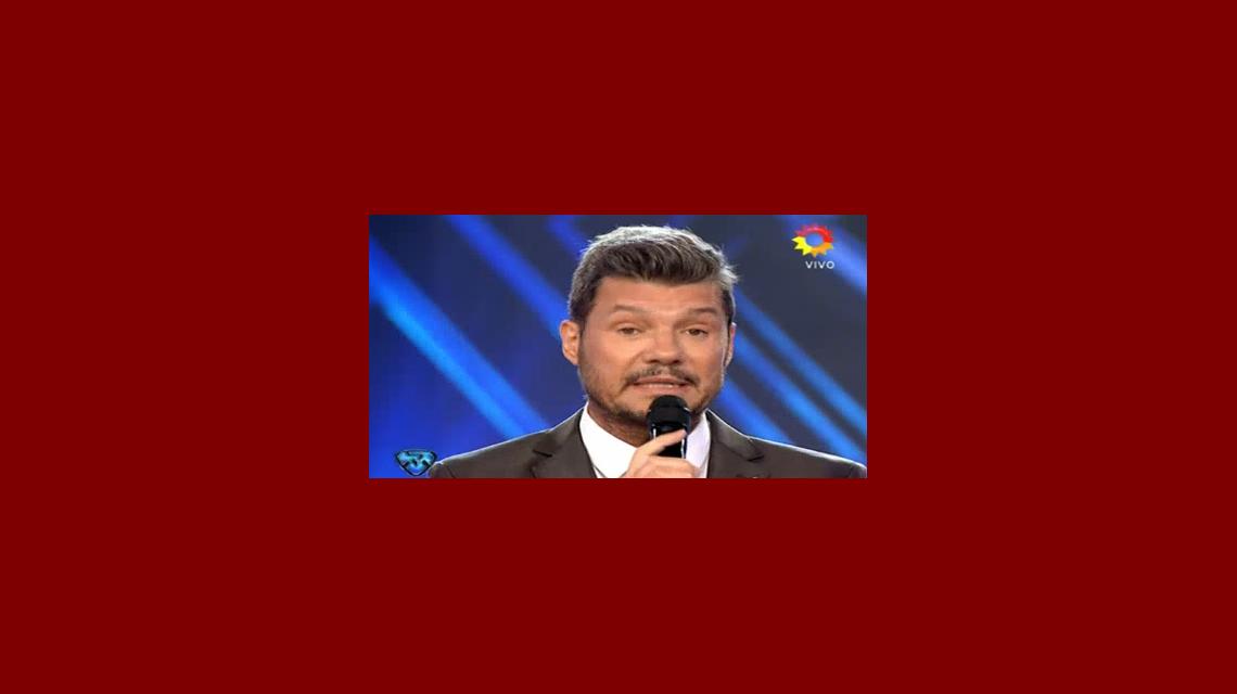 Marcelo Tinelli, conmovido en ShowMatch por la tragedia del Chapecoense