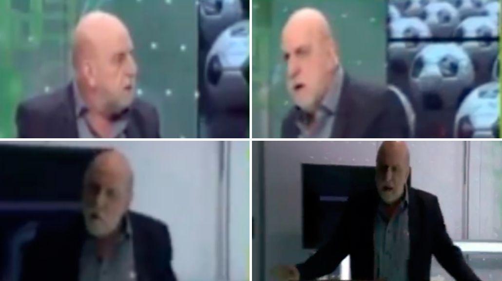 Horacio Pagani insultó a un compañero y se fue de un programa en vivo