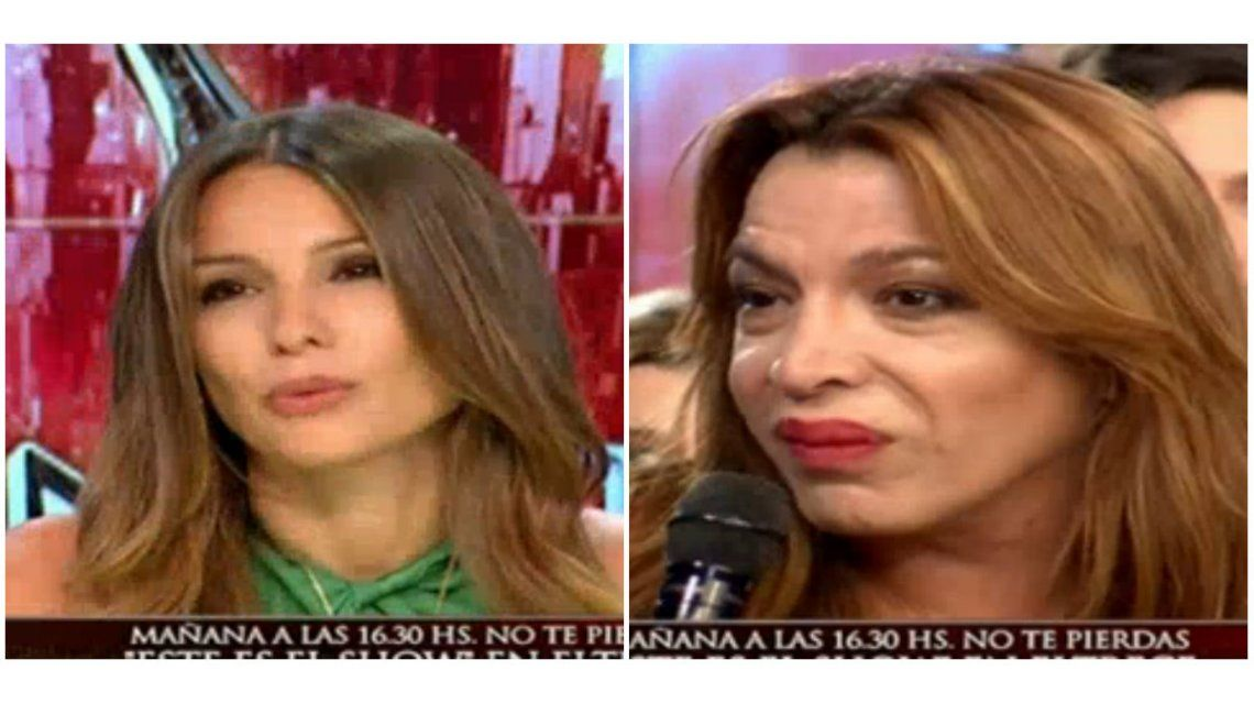 El gesto de Pampita que enfureció a Lizy Tagliani: Me parece maleducado