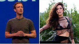 Victoria Vannucci intimó a Facebook