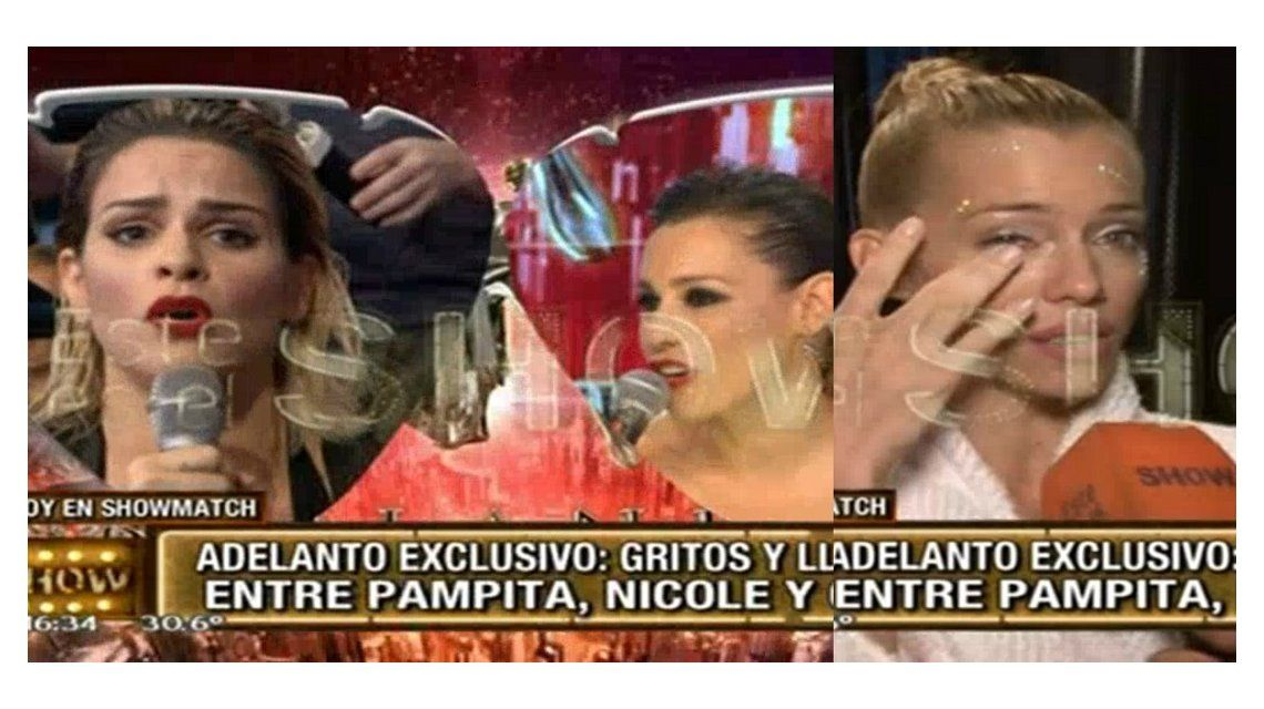 Escándalo de Pampita con Nicole Neumann y la Chipi