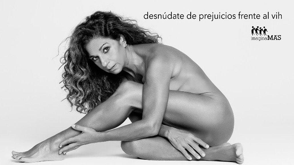 La hija de Lola Flores se desnudó contra el HIV