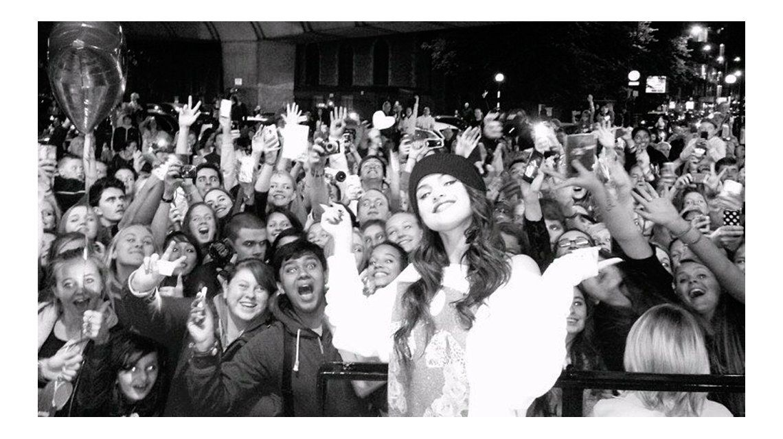 Selena Gomez reapareció en Instagram
