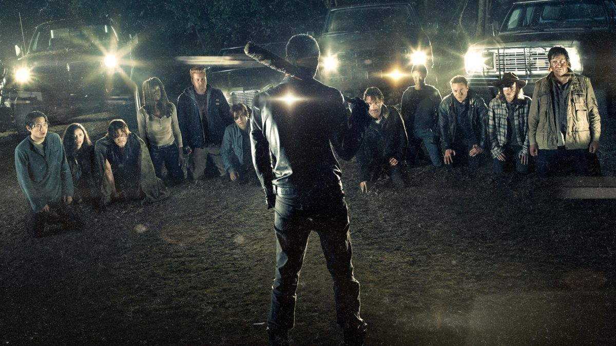 Cayó el rating de la séptima temporada de The Walking Dead.