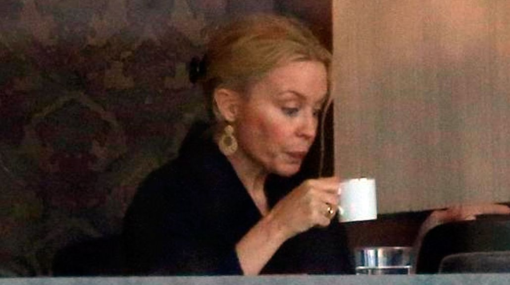 Kylie Minogue sin maquillaje