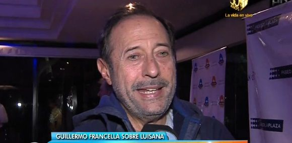 Francella habló del duro momento que transita de Luisana Lopilato.