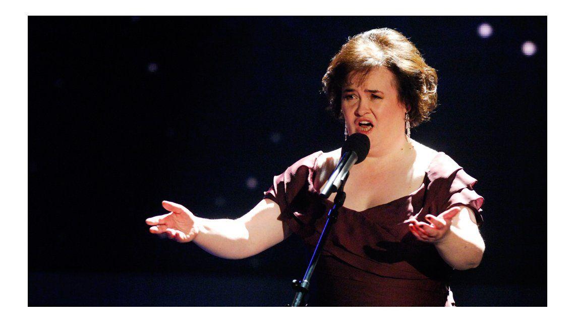 El difícil momento de Susan Boyle.
