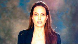 Reapareció Angelina Jolie, tras su ruptura con Brad Pitt.