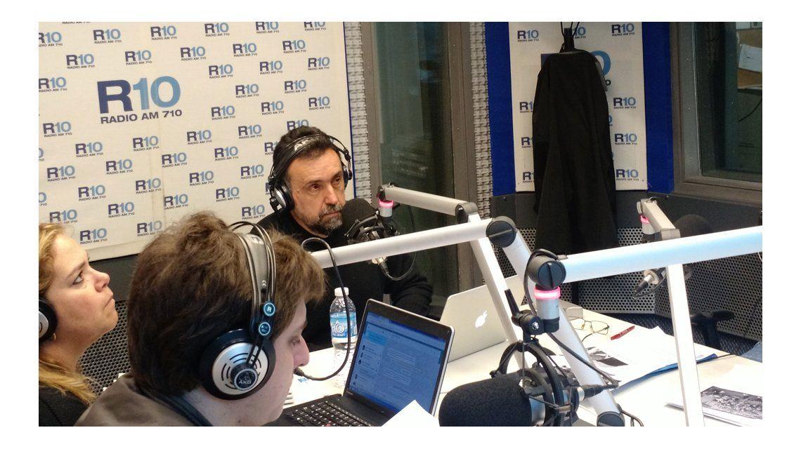 Roberto Navarro, en su debut matutino de Radio 10: Triplicamos la audiencia del dial