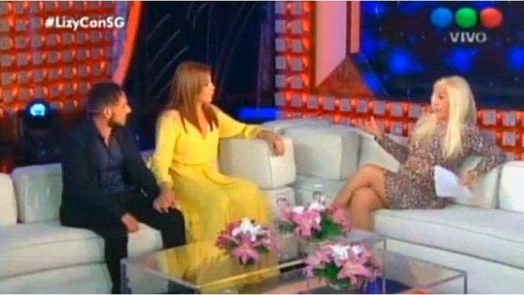 Lizy Tagliani presentó a su nuevo novio en lo de Susana Giménez.
