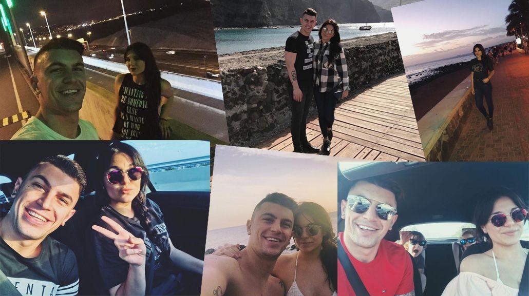 Las vacaciones de Ivana Icardi y Luifa.
