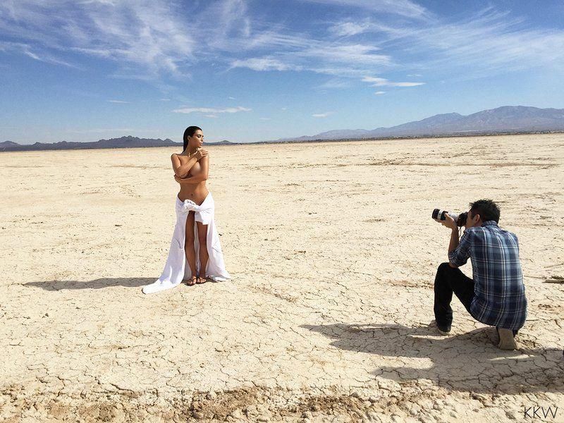 El desnudo de Kim Kardashian.