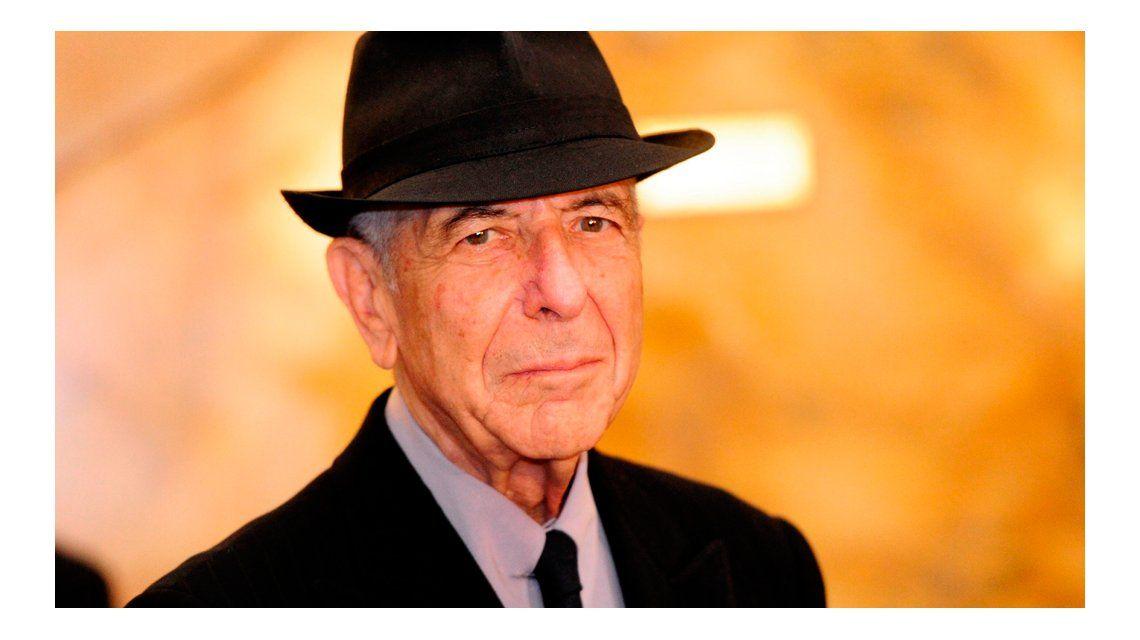 Las causas de la muerte de Leonard Cohen.