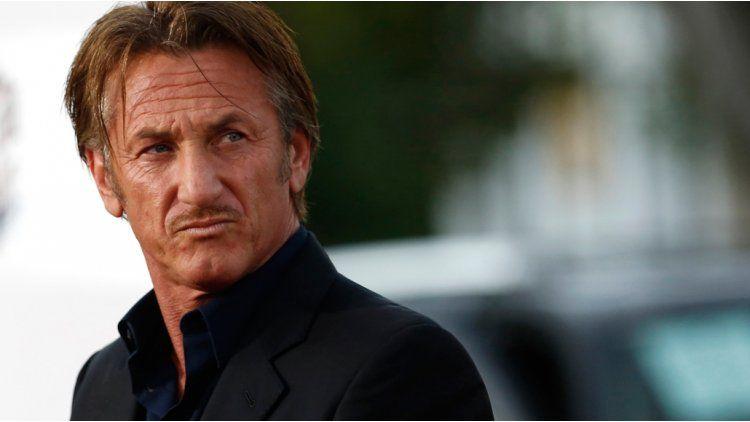 El enojo de Sean Penn.