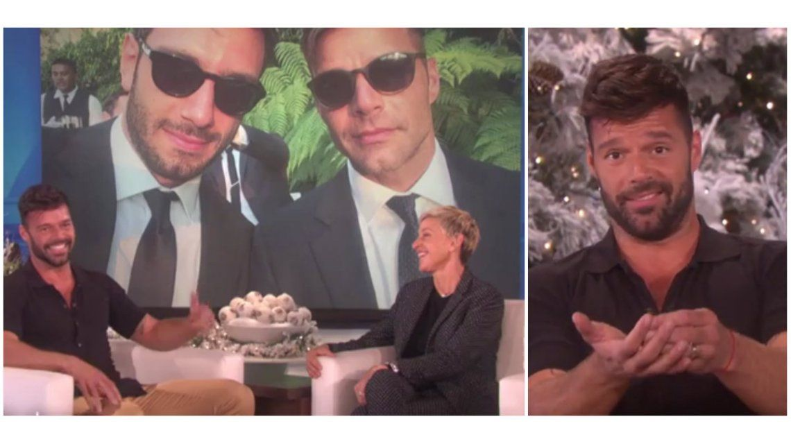 Ricky Martin anunció que se casa con Jwan Yosef.
