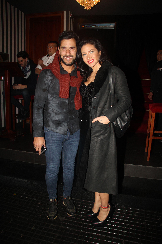 Adabel Guerrero y su novio