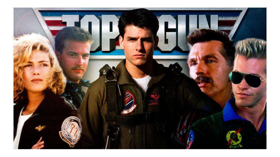 Mirá cómo están los protagonistas de Top Gun después de 30 años