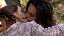 El apasionado beso de Laport y Zampini