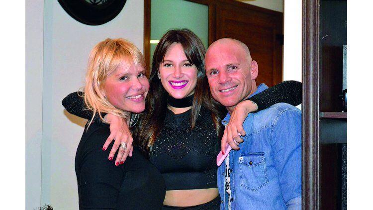 Nazarena Vélez y su ex