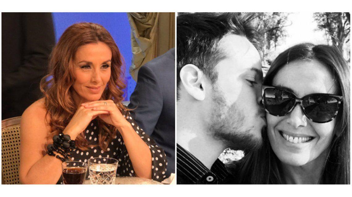 Viviana Saccone habló de su romance con Santiago García Rosa.