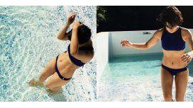 Agustina Cherri en bikini.