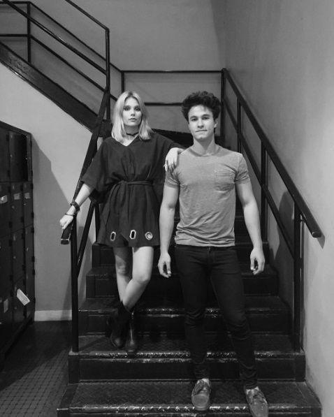 Michael Ronda y Valentina Zenere de Soy Luna