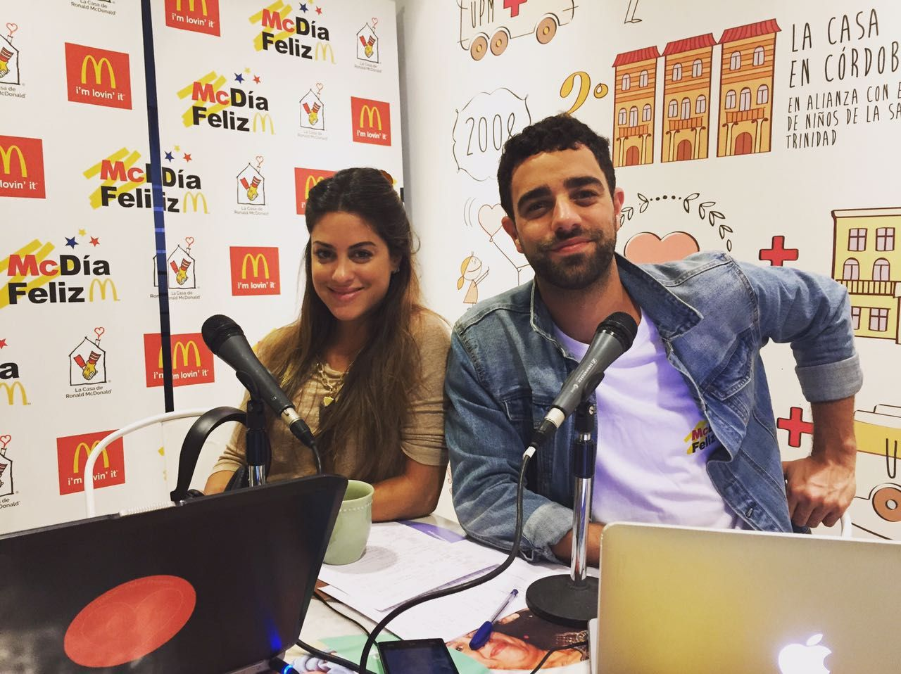 Agustina Casanova y Diego Poggi