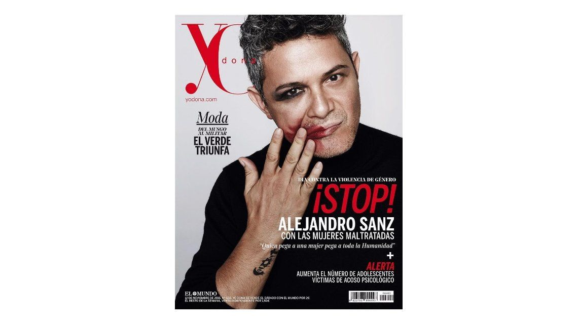 Alejandro Sanz es la tapa de Yo Dona