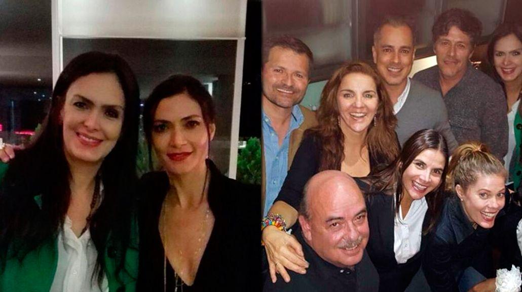 El elenco se reunió después de 17 años