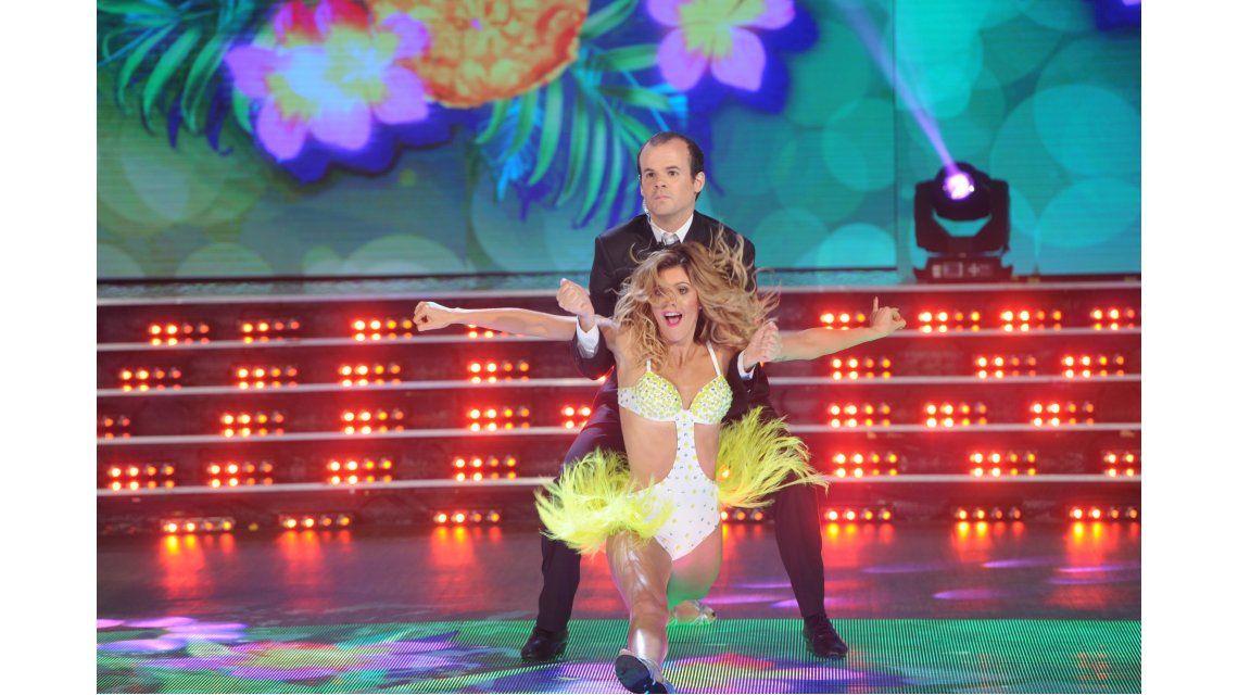 María del Cerro bailó junto a Agustín