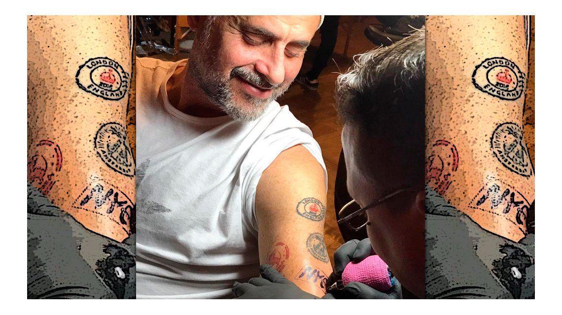El nuevo tattoo de Rial