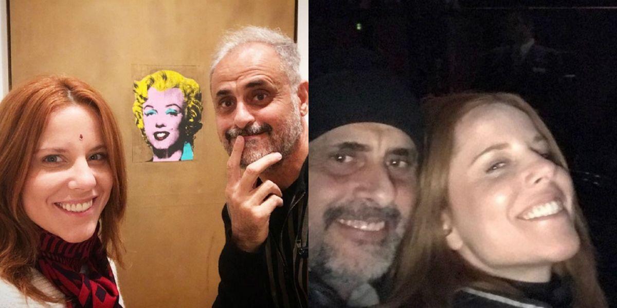 Jorge Rial y Agustina Kampfer