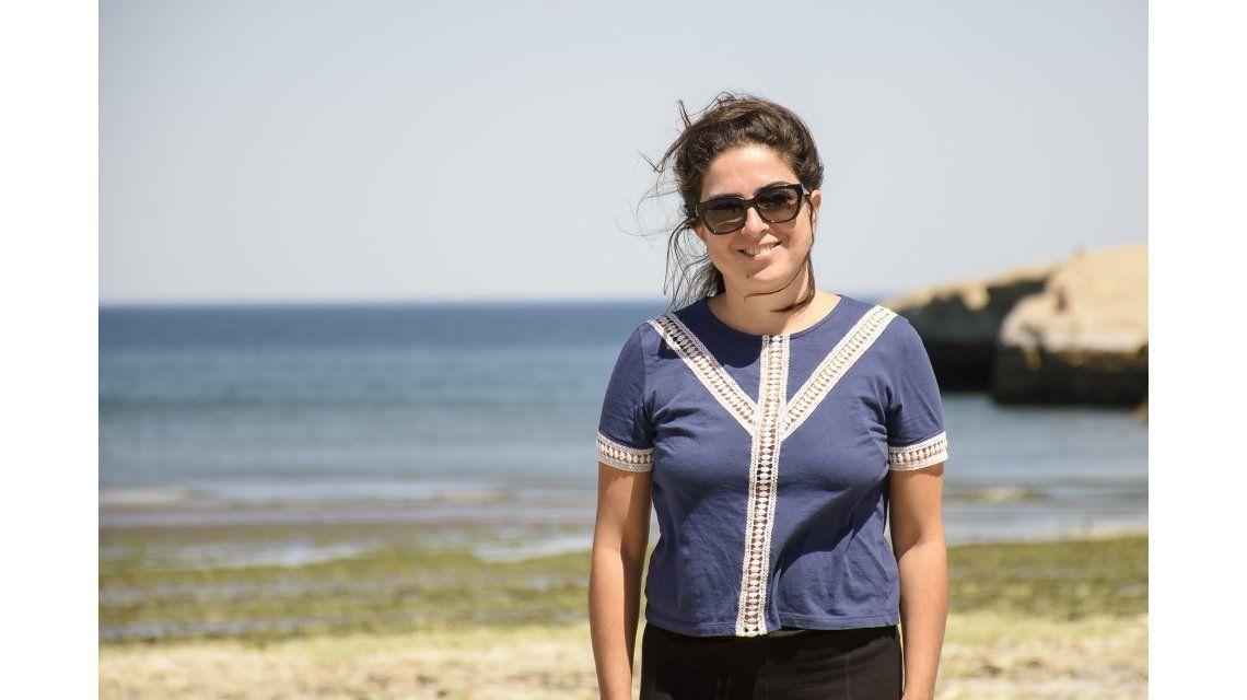 Paola Barrientos en Puerto Madryn