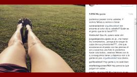Guille Valdés, indignada por los comentarios en Instagram.