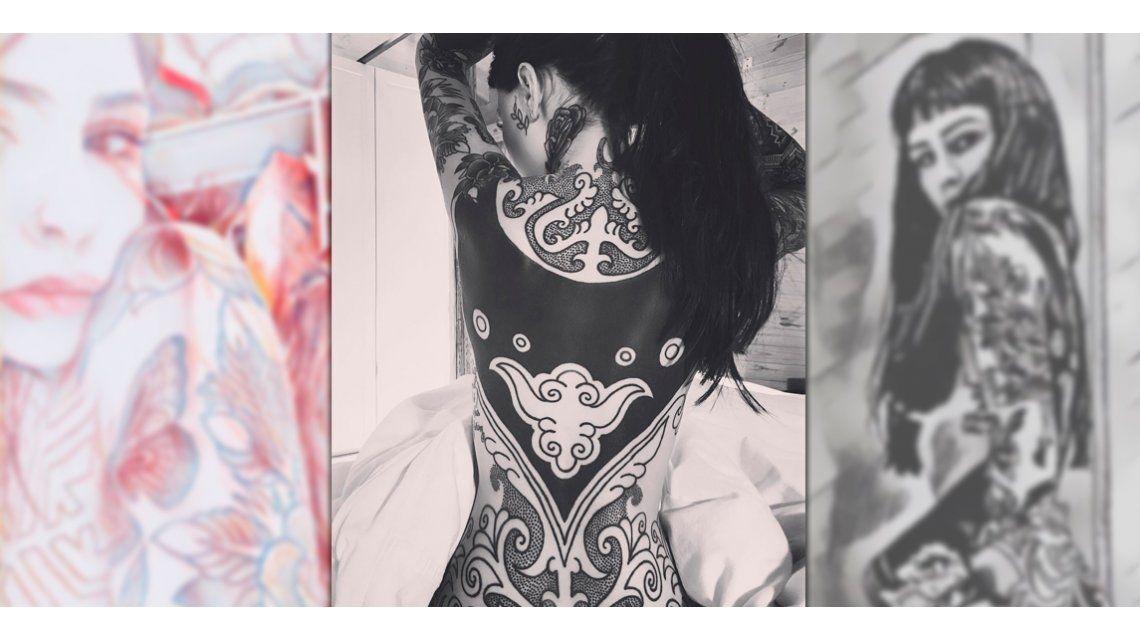 Candelaria se mostró sin ropa en Instagram