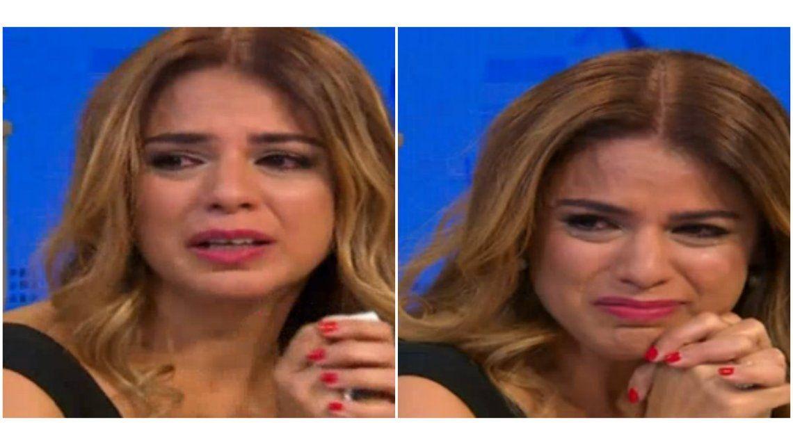 Marina Calabró quebró en llanto al recordar a su padre.