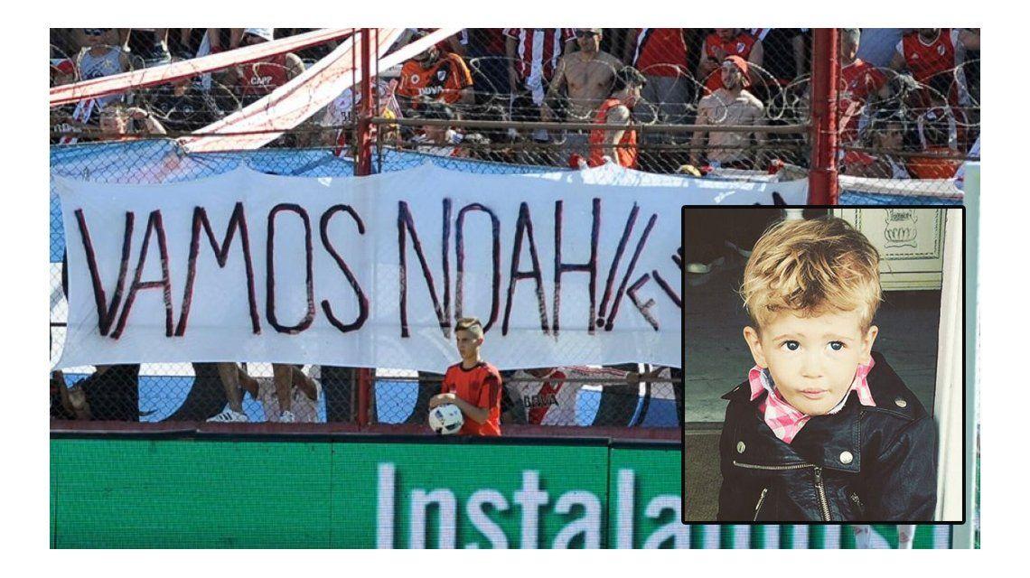 El apoyo de River a Noah