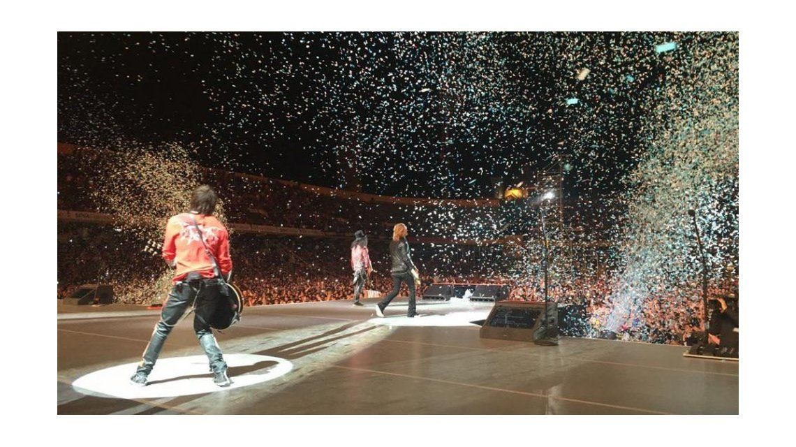 Los Guns N Roses sacudieron Rosario.