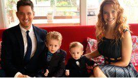 Luisana Lopilato y su familia