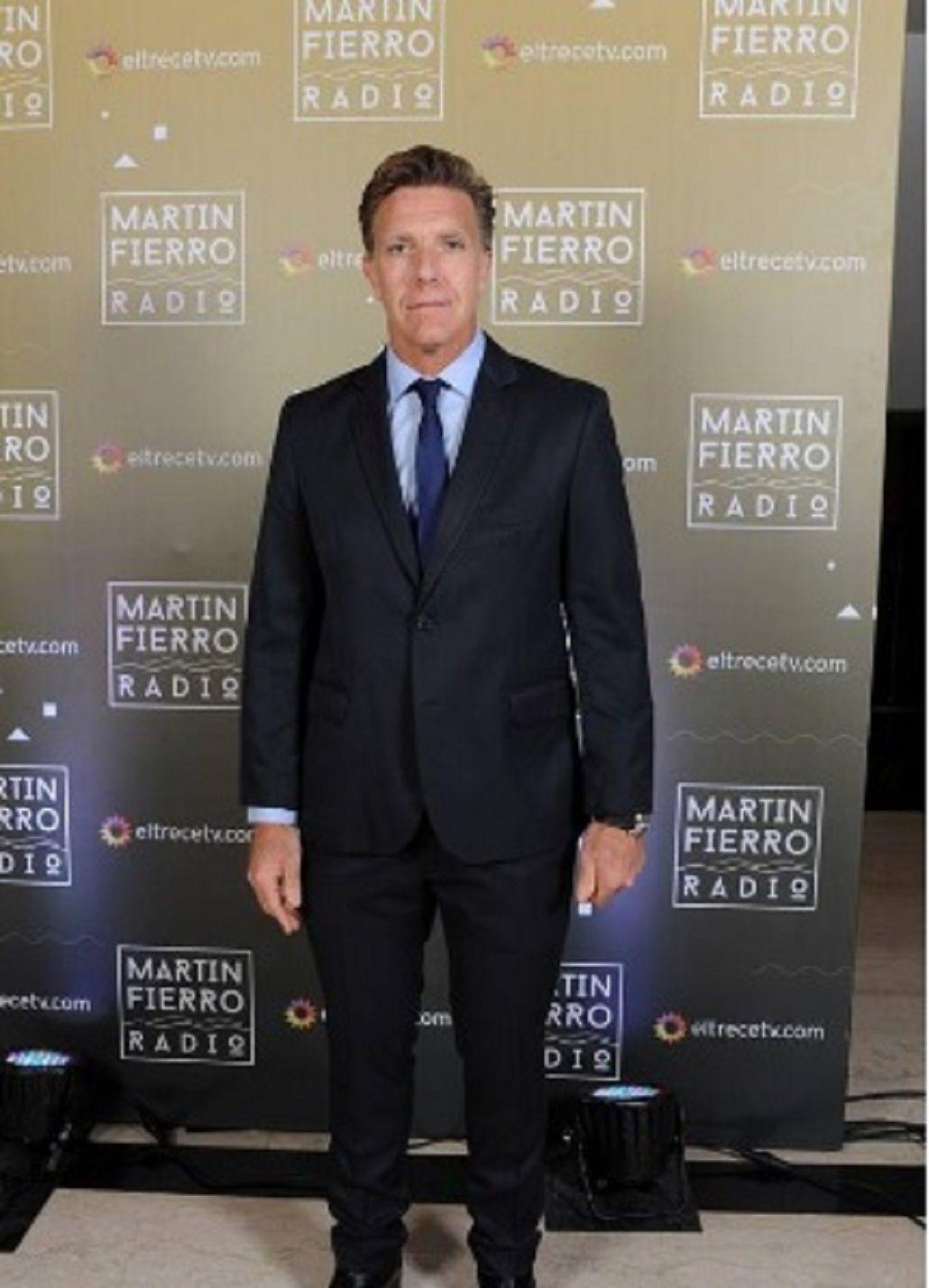 Fantino en los Martín Fierro a la Radio - Prensa El Trece