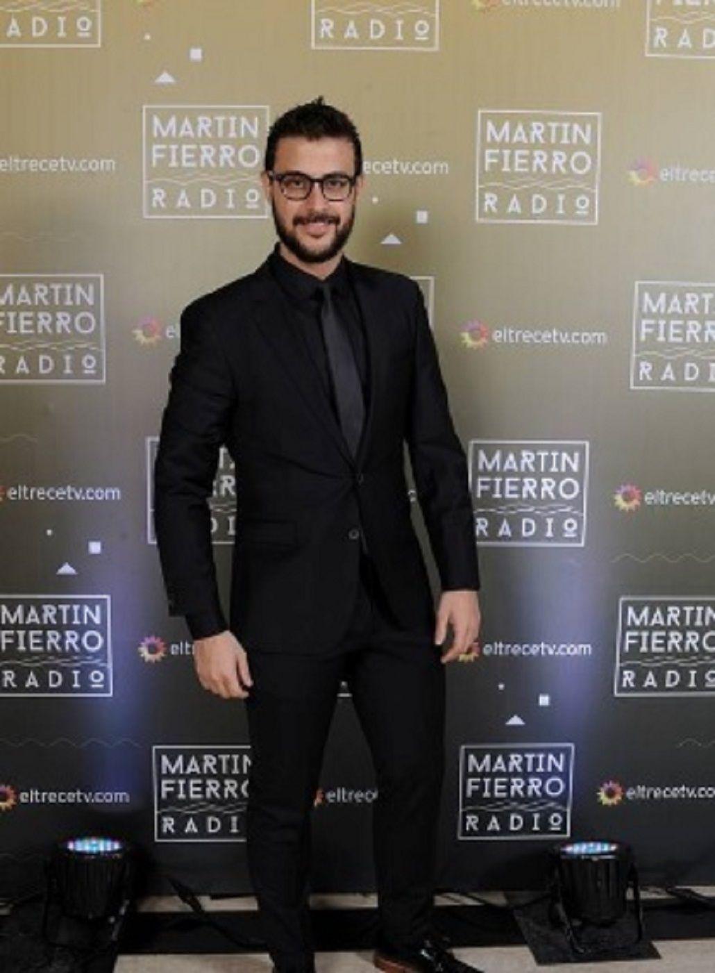 Diego Leuco en los Martín Fierro a la radio - Crédito Prensa El Trece