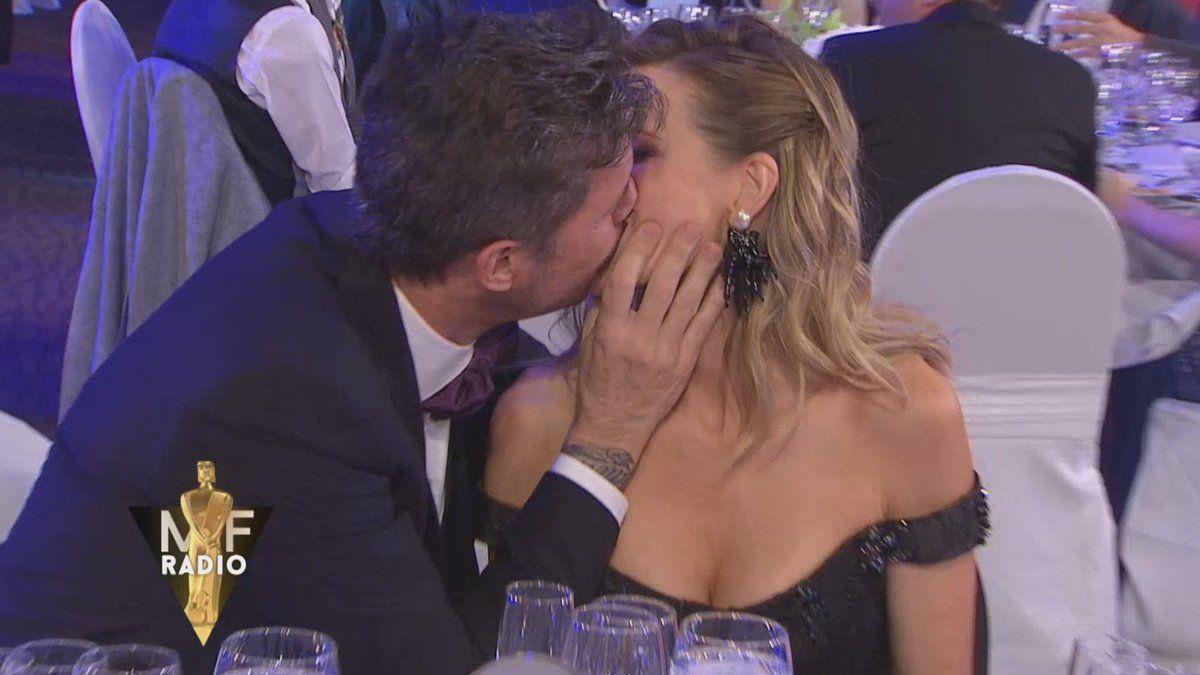 El momento del beso