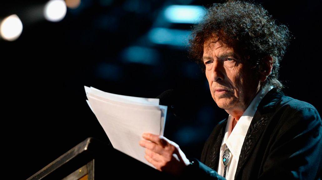 Bob Dylan hizo público el discurso por el premio Nobel.