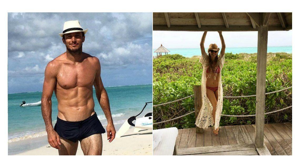 Lomazos al sol: Pico Mónaco y Pampita se divierten en Miami