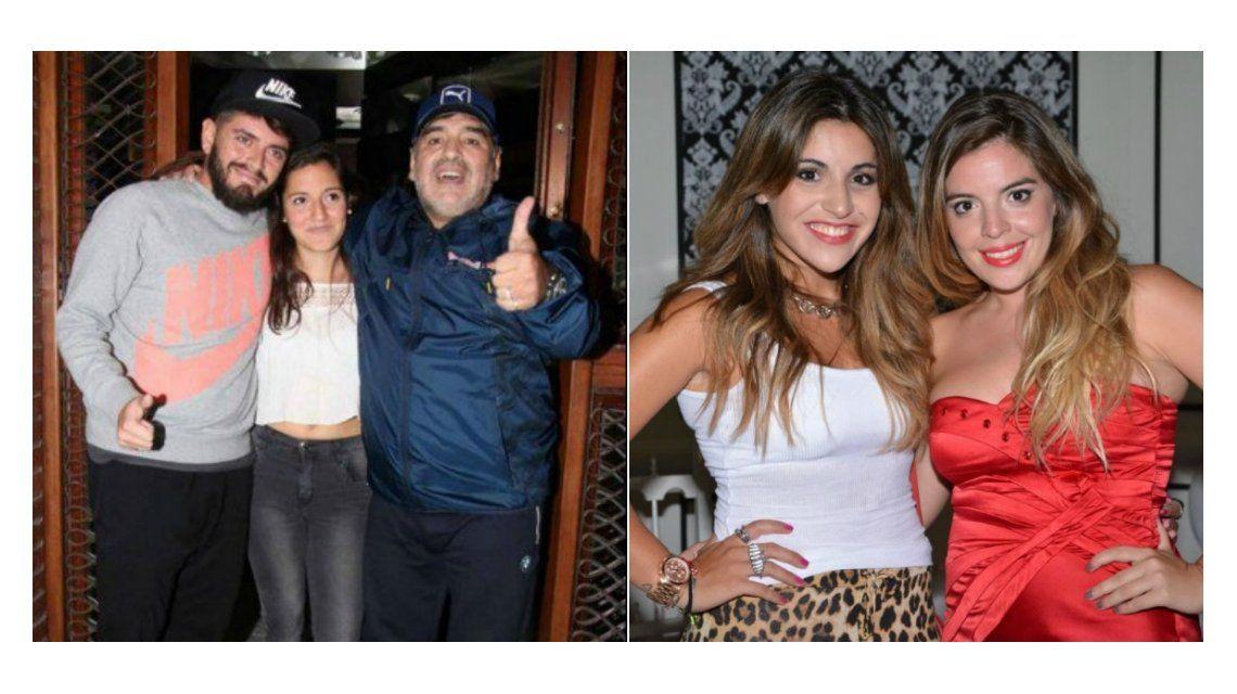 Los hijos de Diego Maradona