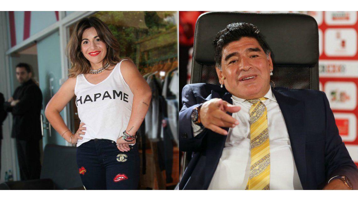 Gianinna Maradona desafía a Diego.