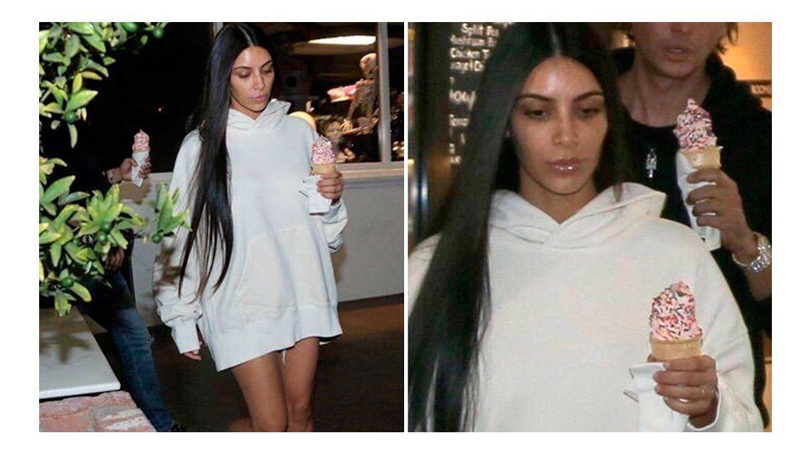 El mal momento de Kim Kardashian.