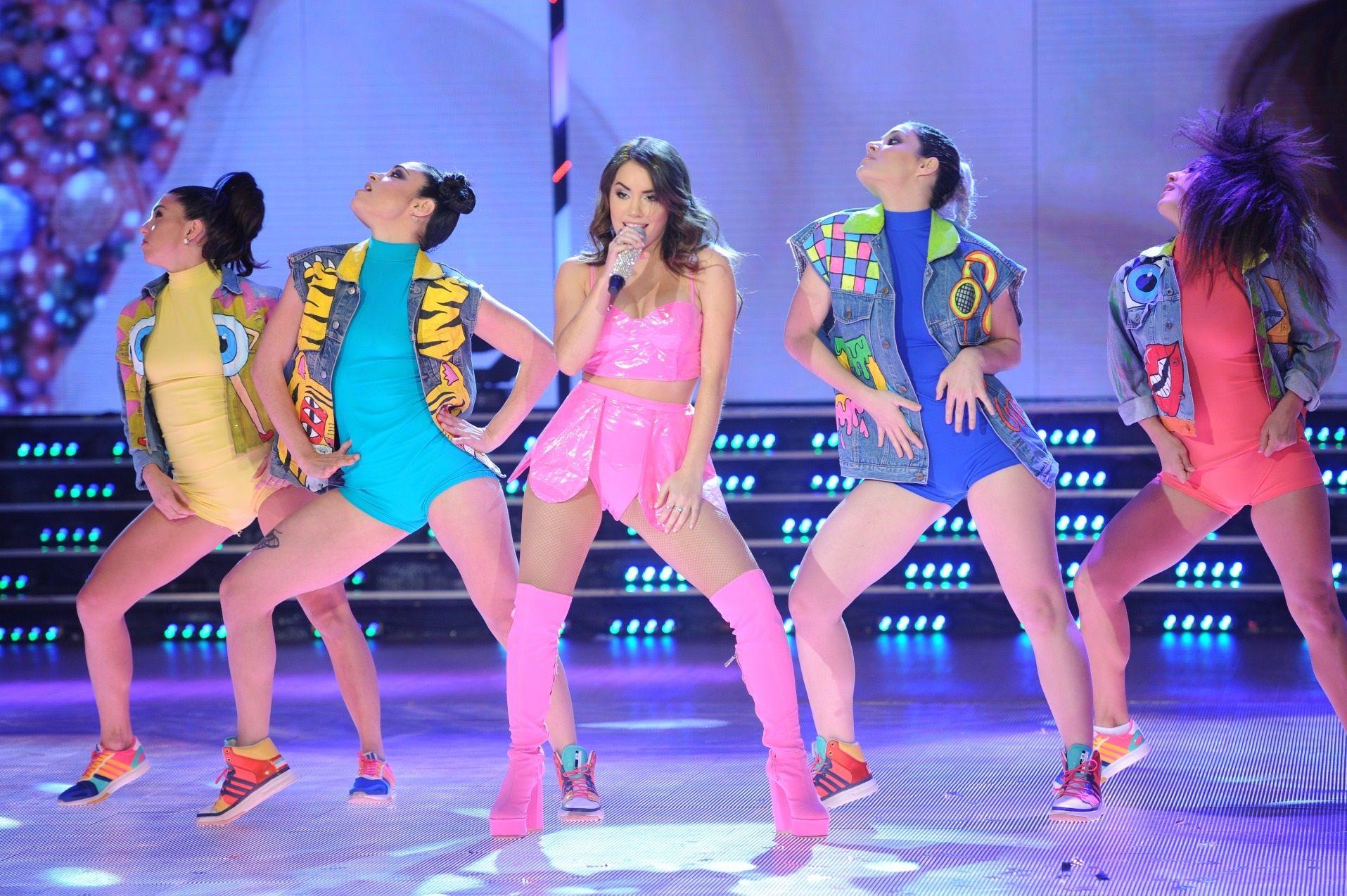 Lali Espósito brilló en ShowMatch con sus shows.