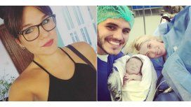El blooper de Ivana Icardi cuando anunció el nacimiento de su sobrina, la hija de Wanda